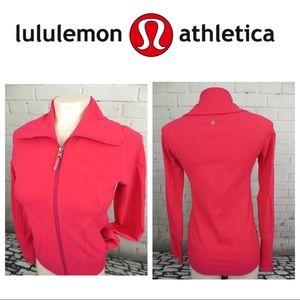 💗🍋Lululemon pink zip up jacket